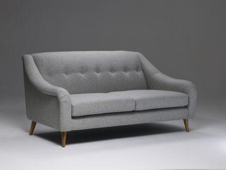 Model 2 Medium Retro Buttoned Sofa