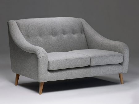 Model 2 Small Retro Buttoned Sofa