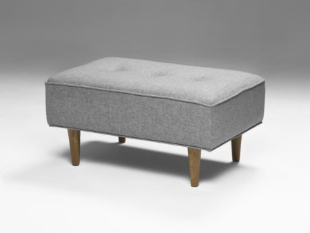 Model 1 Mid Century Footstool for the Model 1 Sofa Collection