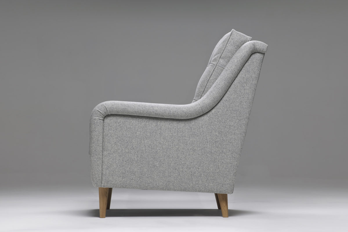 Model 1 High Backed Armchair